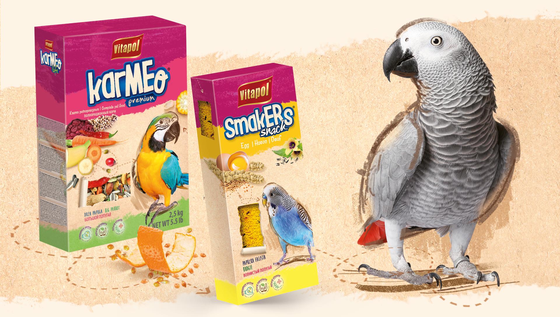 Karmeo Smakers - nowa karma dla zwierząt.
